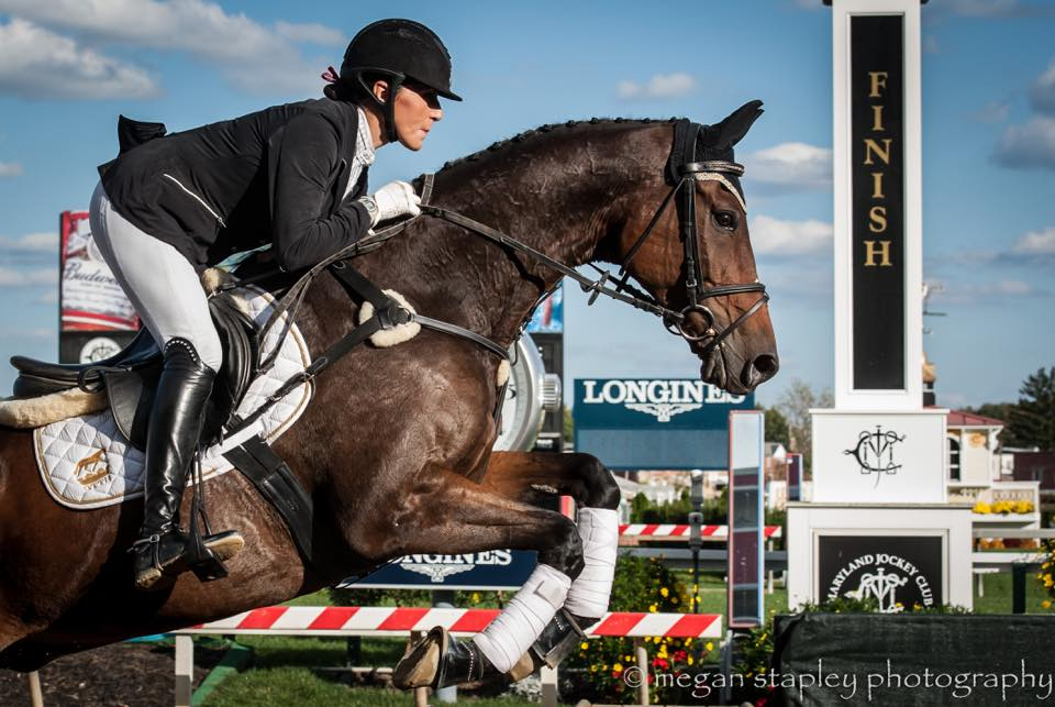 Laine Ashker Anthony Patch Al OTTB Longines Promo